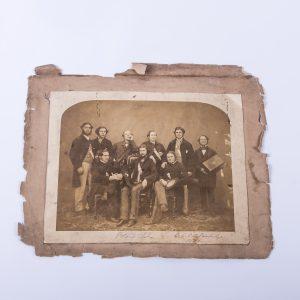 1858 Antique C.C. College Cambridge Potato Club WE.W.Davies