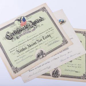 1931Perfect Attendance Award