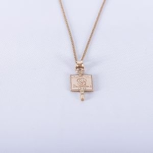 1942 Phi Beta Kappa charm with chain 2