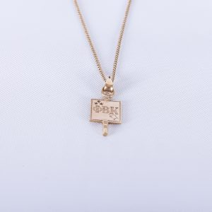 1942 Phi Beta Kappa charm with chain