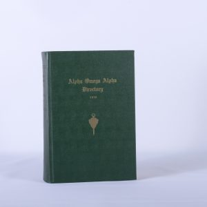 1956 ALPHA OMEGA ALPHA DIRECTORY 3E Honor Medical Fraternity Society Physician