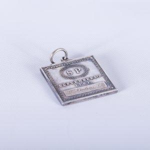 1979 Phi Beta Kappa Silver plated keychain