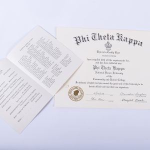 1979 Phi Theta Kappa National Honor Fraternity Eugene W. Potter 2