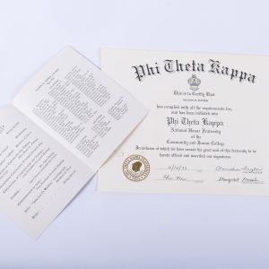 1979 Phi Theta Kappa National Honor Fraternity Eugene W. Potter 2