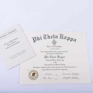 1979 Phi Theta Kappa National Honor Fraternity Eugene W. Potter
