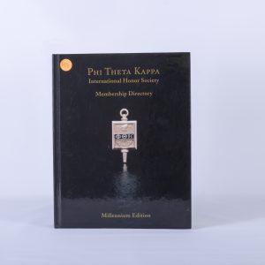 2001 Phi Theta Kappa Int'l Honor Society Membership Directory, Millennium Ed
