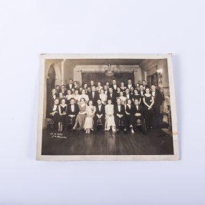 ANTIQUE ORIGINAL PHOTO - 1933 Class Photo