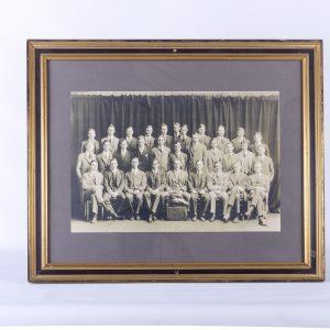 Antique 19th century Tutfs University class pictures