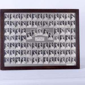 Antique Framed Nursing School Class Photo from 1932