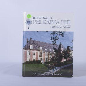 Book The Honor Society of Phi Kappa Phi 2002 Directory of Members 2