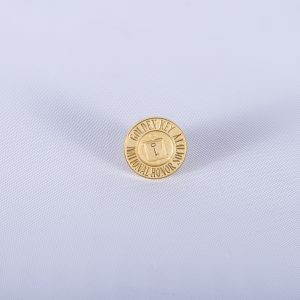 Golden Key National Honor Society Tie Tac Pin