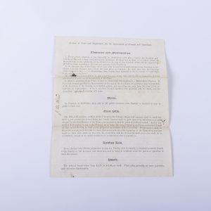 HARVARD COLLEGE 1863 ORIGINAL CERTIFICATE OF ADMISSION FOR J.W. REED 2