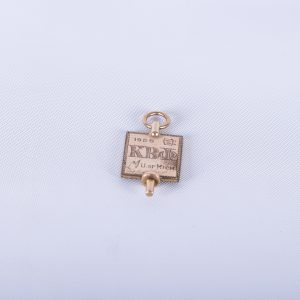 Kappa Beta Phi Vintage Watch FOB 1928 University Michigan Fraternal Gold Filled Birthday Anniversary