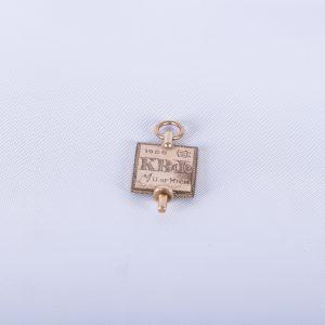 Kappa Beta Phi Vintage Watch FOB 1928 University Michigan Fraternal Gold Filled Birthday Anniversary