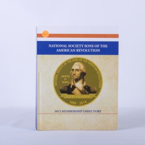 NATIONAL SOCIETY SONS OF THE AMERICAN REVOLUTION 2015 MEMBERSHIP DIRECTORY