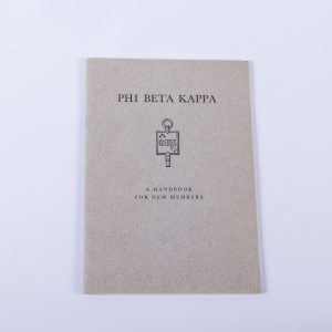 Phi Beta Kappa Member Handbook