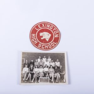Photograph of the 1946-1947 Lexington High School (Indiana) Class Photo