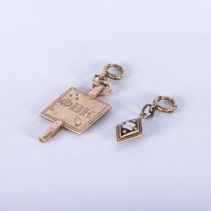 Rare Phi Beta Kappa & Delta Kappa Epsilon Gold Key & Charm 2