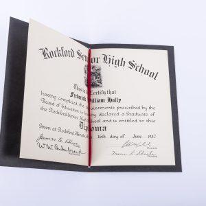 Rockford Senior High School Diploma