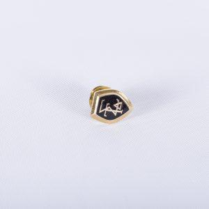 SIGMA TAU DELTA English Honor Society, Goldtone Tie TackMembership Pin