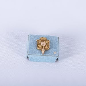 Sigma Delta Pi National Collegiate Hispanic Honor Society Pin wOriginal Box 2