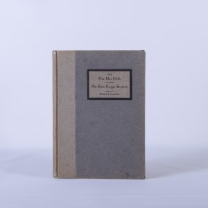 The Flat Hat Club And The Phi Beta Kappa Society 1916 First Edition