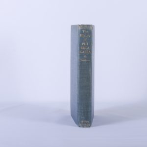 The History of Phi Beta Kappa - (1st Edition)Oscar M. Voorhees Crown -NY - 1945 4